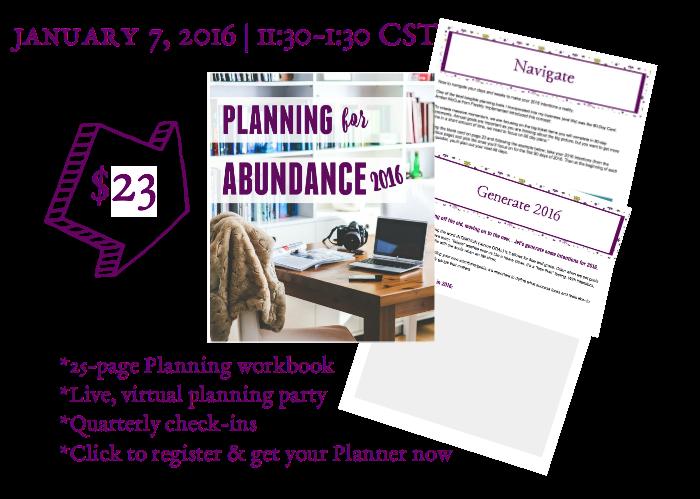 PLY Planning Block 2