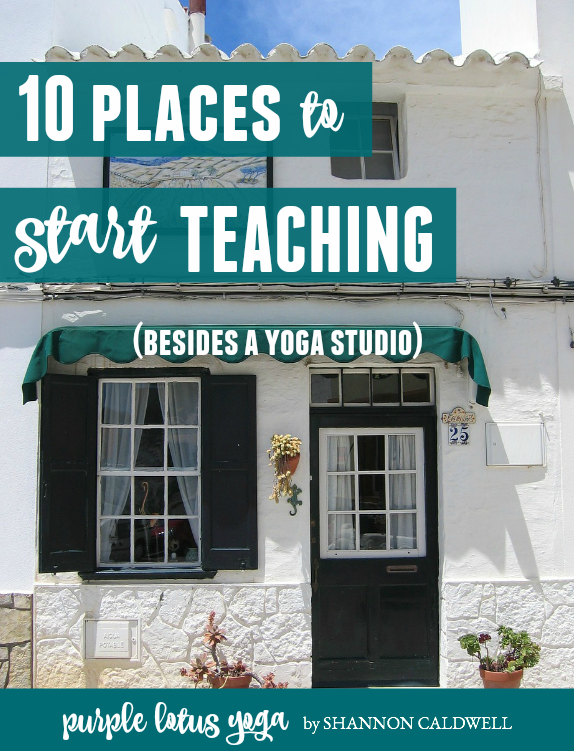 10 places to teach