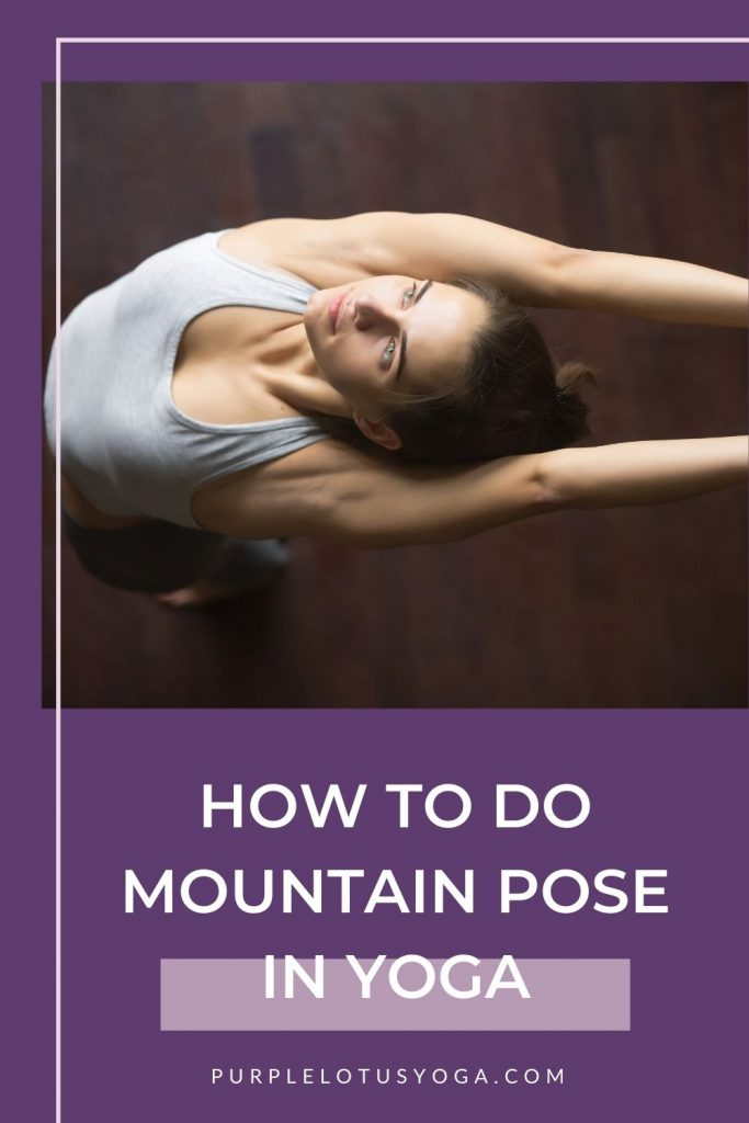 how to do mountain pose in yoga