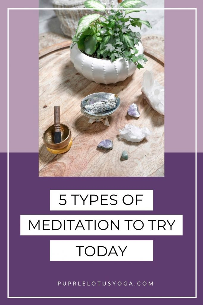 5 types of meditation to try today