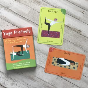 childrens yoga card deck