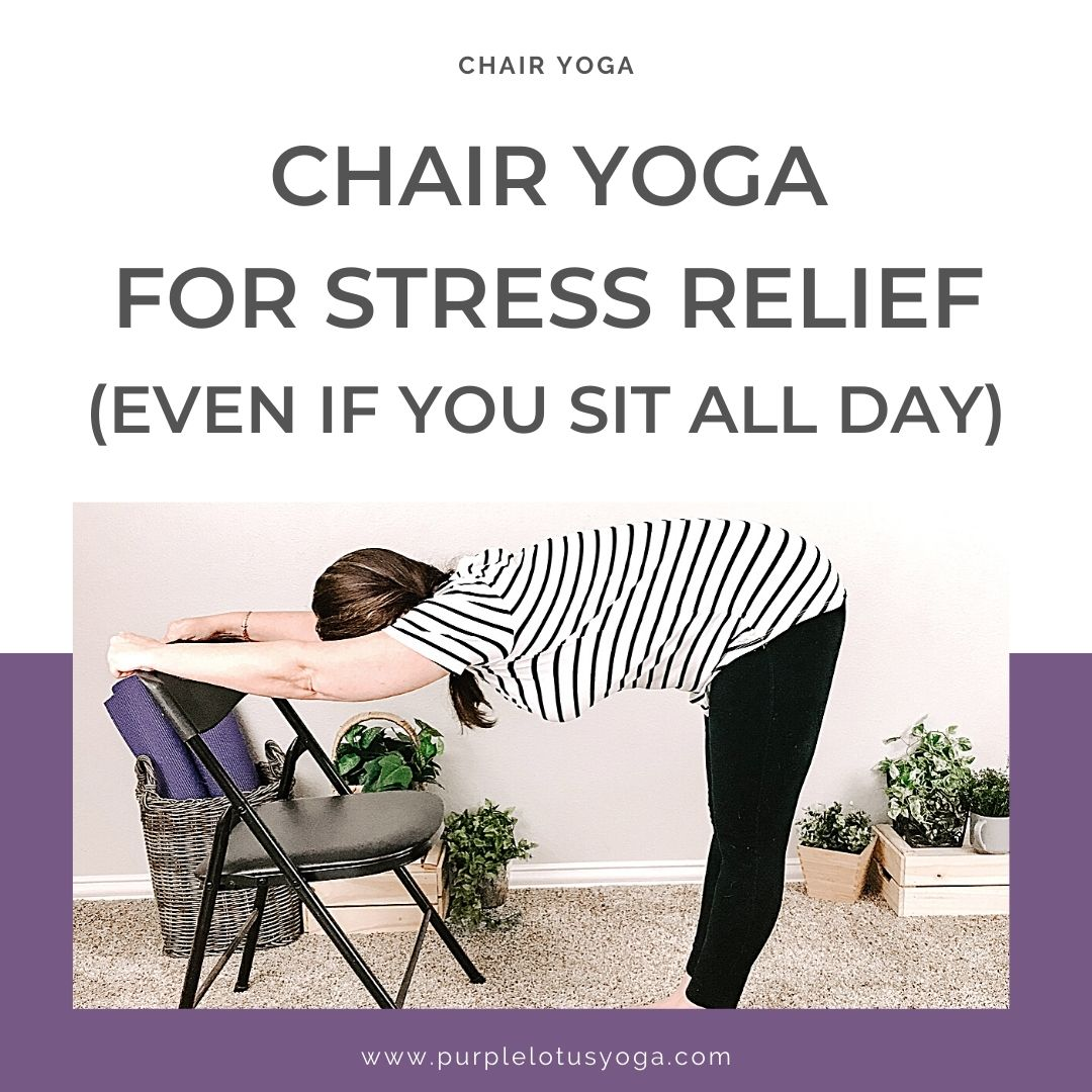 chair yoga for stress relief even if you sit all day feature