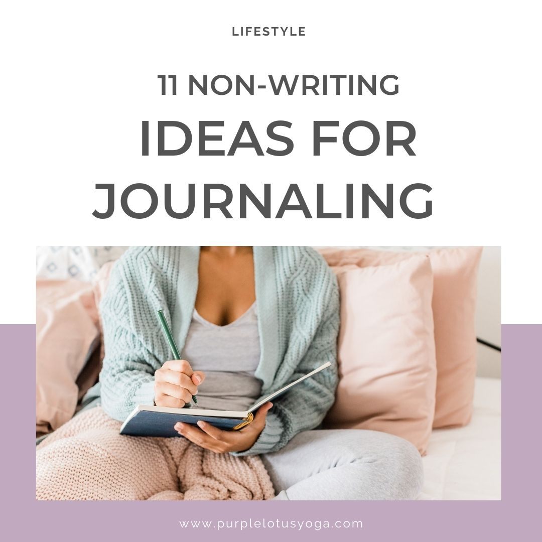 11 non writing ideas for journaling feature