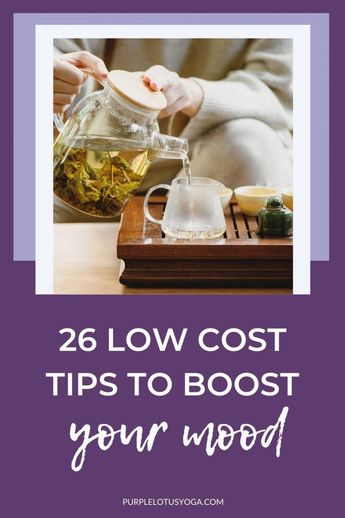 26 low cost tips to boost your mood
