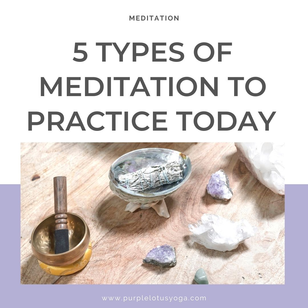 5 types of meditation to practice today