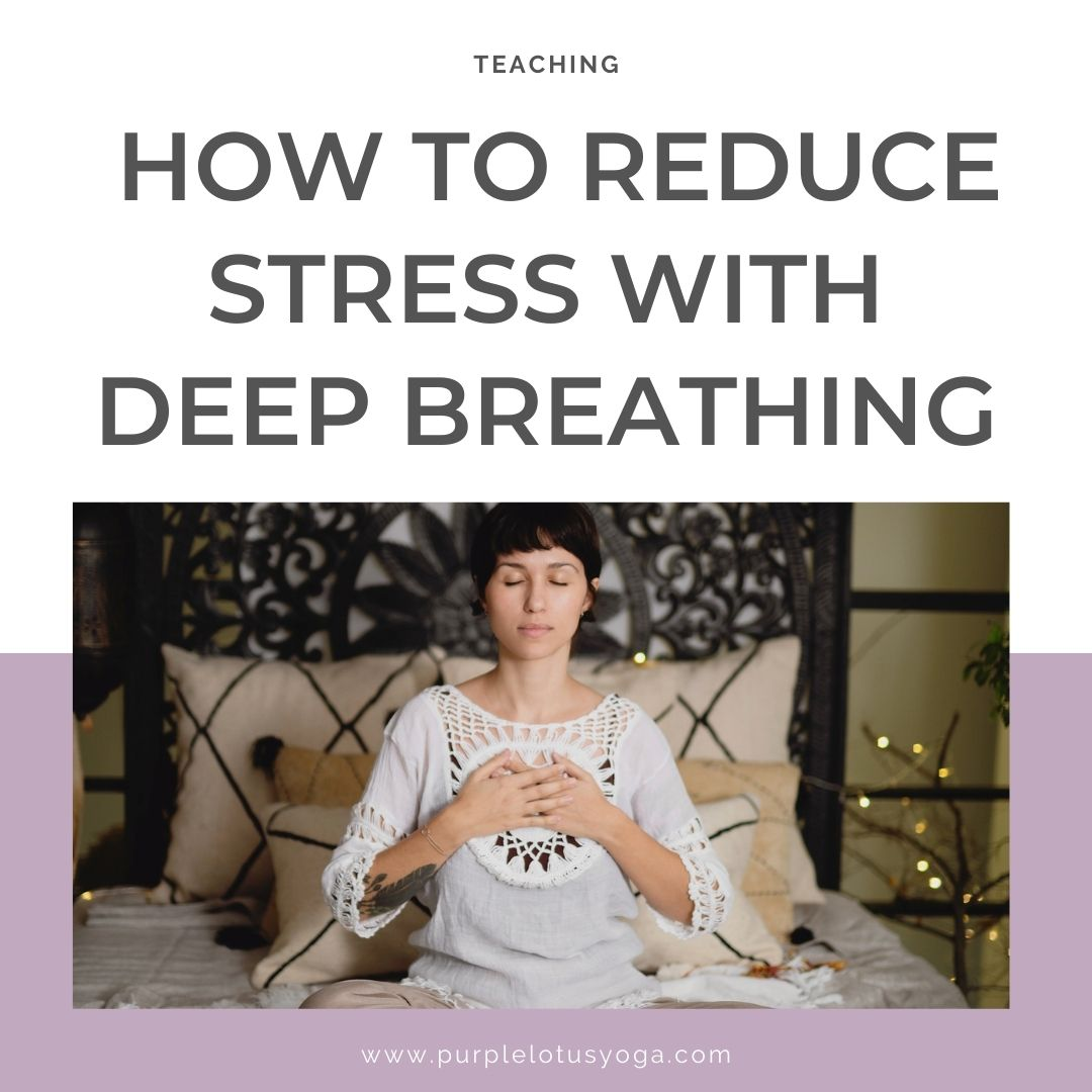 How to reduce stress with deep breathing