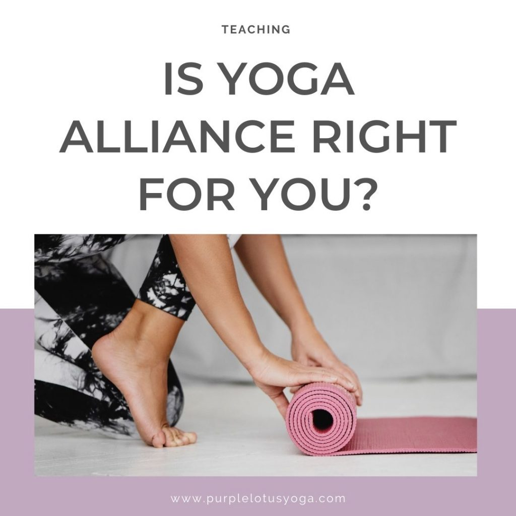 is yoga alliance right for you